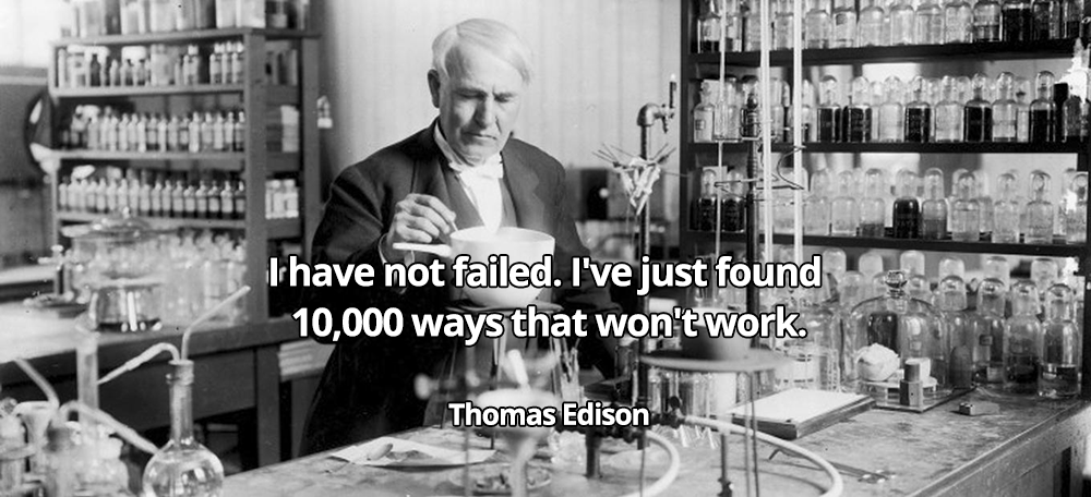 When you ask, what is innovation? No man exemplifies this more than Thomas A. Edison.